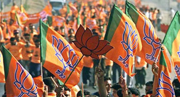 BJP के युवा मोर्चे ने पहली बार कश्मीर में किया सम्मेलन, लगे ''अल्लाहु अकबर'' के नारे