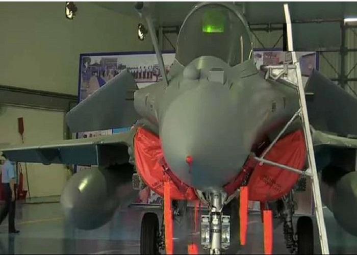 ऐसे हुई राफेल की IAF में एंट्री, देखें तस्वीरें.....