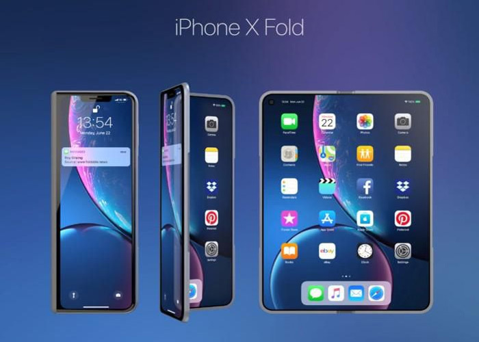 iPhone X Fold in 2020