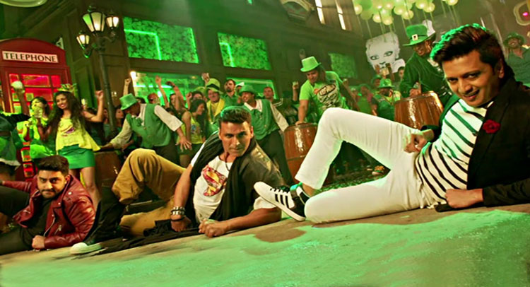 Video: अक्षय, रितेश और अभिषेक के गाने ''टांग उठाके'' ने मचाया धमाल