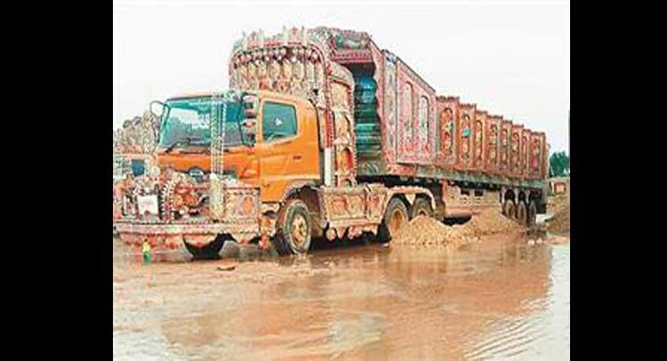 सीमेंट के बाद अब बिना अनलोडिंग वापस लौटे जिप्सम 15 ट्रक