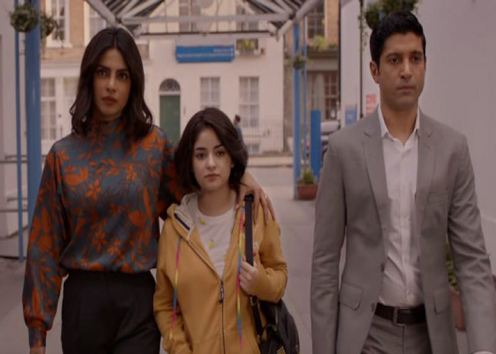 The Sky is Pink, Priyanka Chopra, Farhan Akhtar, Zaira Wasim