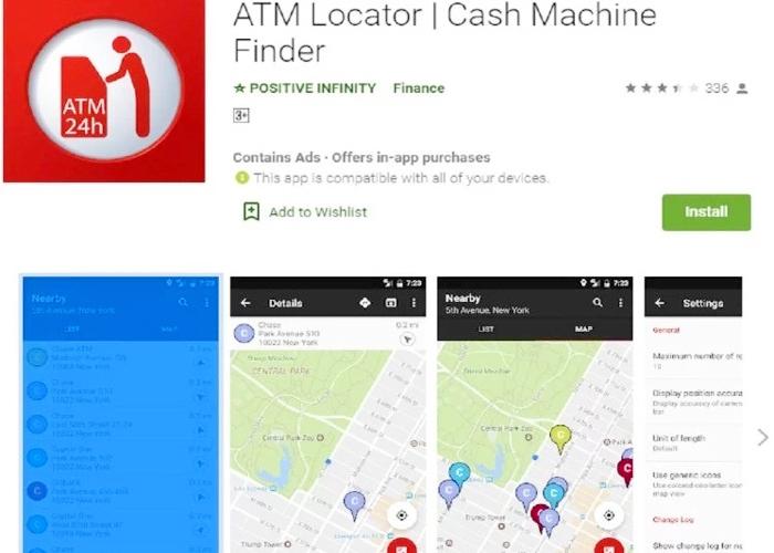 ATM Locator App