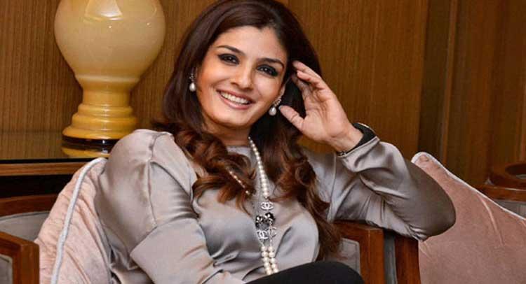 एक समय संजय दत्त की तरफ आकर्षित थीं रवीना