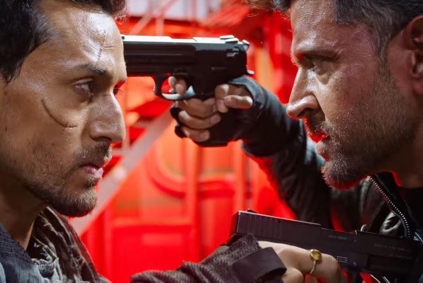Hrithik Roshan and Tiger Shroff Film War