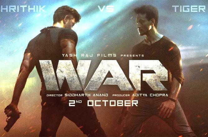 Tiger Shroff, Hrithik Roshan, Vaani Kapoor, Film War, Siddharth Anand