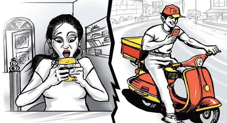 ऑनलाइन फूड मंगवाना महिला को पड़ा महंगा, आने लगे गंदे कॉल्स