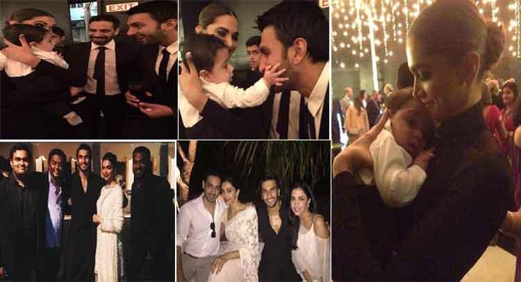 Video में देखें, दीपिका- रणवीर ने फ्रेंड की शादी में कैसे मचाया धमाल