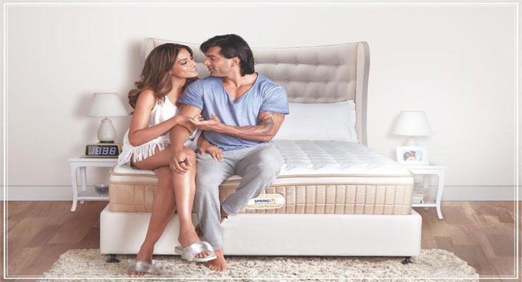 बिपाशा-करण ने लॉन्च किया अपना स्प्रिंगफिट ''Autograph Collection mattress''