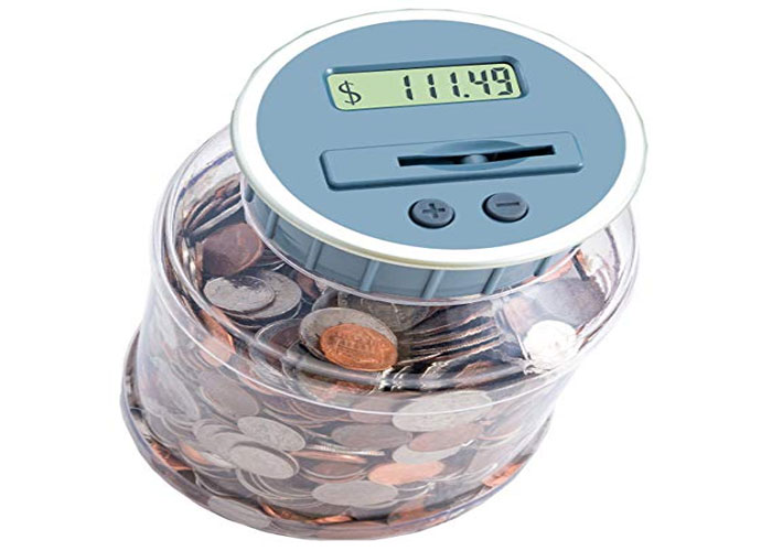 (M&R Digital Counting Coin Bank