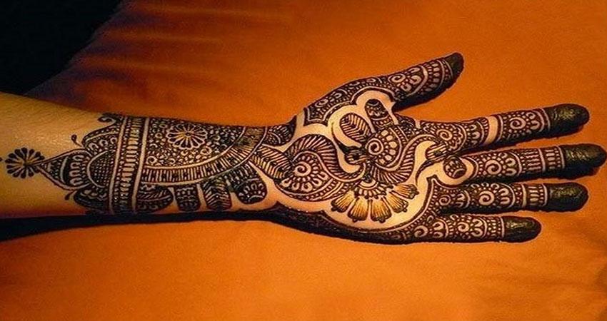 punjabi mehandi design navodaya times
