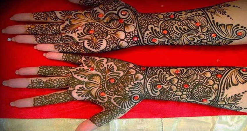 Gujrati mehandi design navodaya times