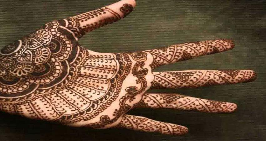 Kashmiri mehandi design navodaya times