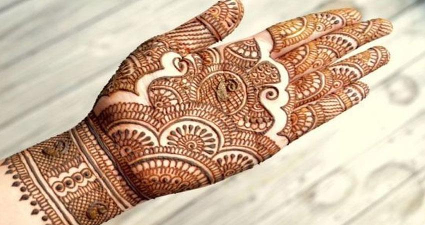 Rajasthani mehandi design navodaya times