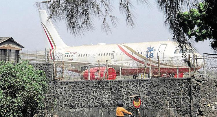 विजय माल्या के निजी विमान को कबाड़ में बेचने की लगी गुहार