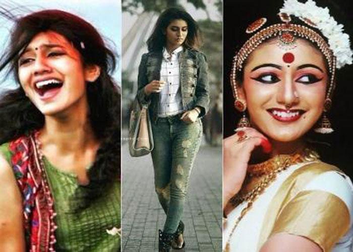 तस्वीरों के जरिए दैखिए कैसे बढ़ती जा रही है प्रिया प्रकाश के प्रति दीवानगी