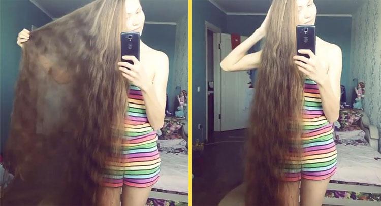 इस लड़की के बालों के सोशल मीडिया पर हैं कई दीवाने, जानें क्यों