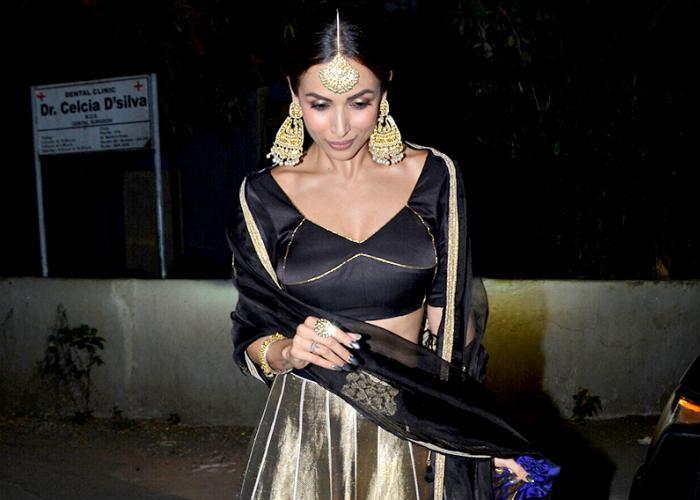 तस्वीरों में देखिए मलाइका अरोड़ा का  ट्रेडिशनल लुक