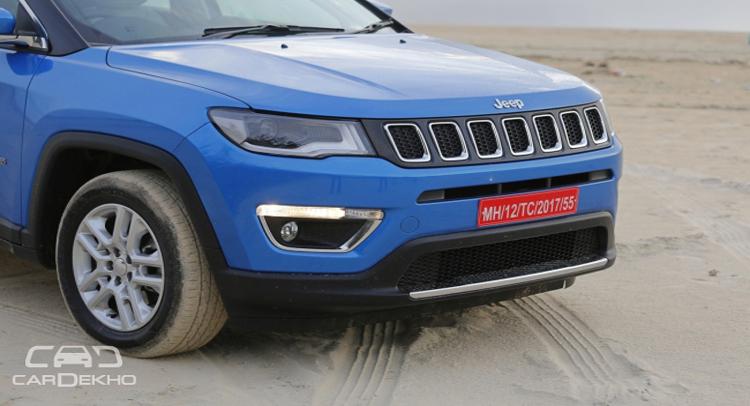 दिवाली पर शुरू होगी jeep कंपास पेट्रोल varient की डिलीवरी