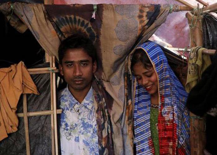 रोहिंग्या कैंपों में हो रही शादियां, हालात हैं ऐसे