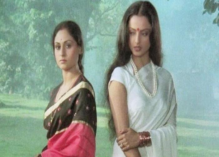 rekha  jaya bachachan