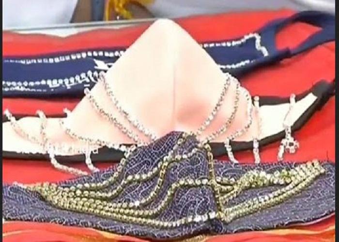 कोरोना काल में भी न छूटे हीरे का मोह, देखिए हीरों से सजे ये लाखों के मास्क...
