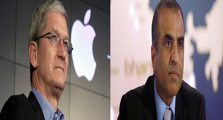 एप्पल के CEO और एयरटेल प्रमख ने इन मुद्दों पर की चर्चा