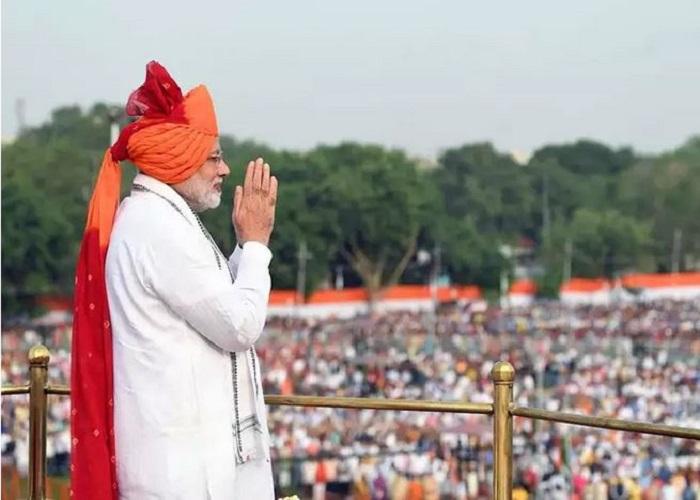 बीते 6 सालों में PM MODI ने पहने 15 अगस्त पर इन रंगों के साफे, देखें तस्वीरें...
