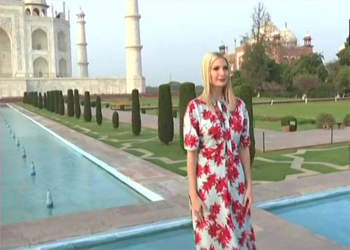 Ivaka trump in agra