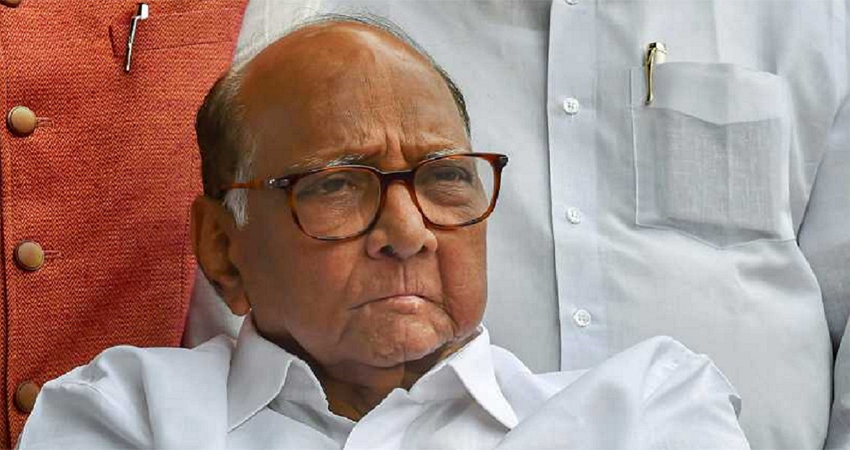 शरद पवार की बढ़ी मुश्किलें, NCP के तीन नेताओं ने थामा BJP दामन