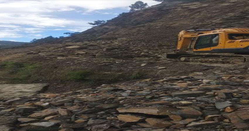 केदारनाथ राजमार्ग पर वाहनों की आवाजाही दो दिन से ठप