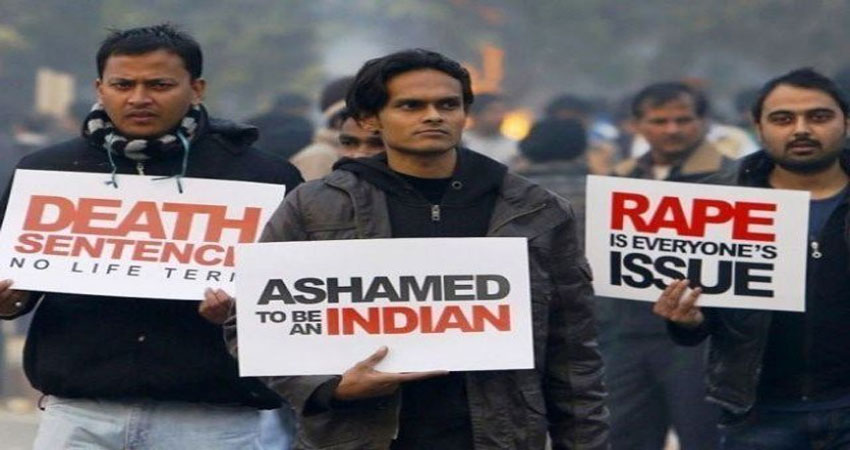 भारत में हो रहे बलात्कारों की चीखें पहुंचीं अब विदेशों में