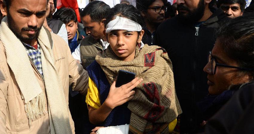 JNUSU समेत तीन लोगों से दिल्ली पुलिस की टीम ने की पूछताछ