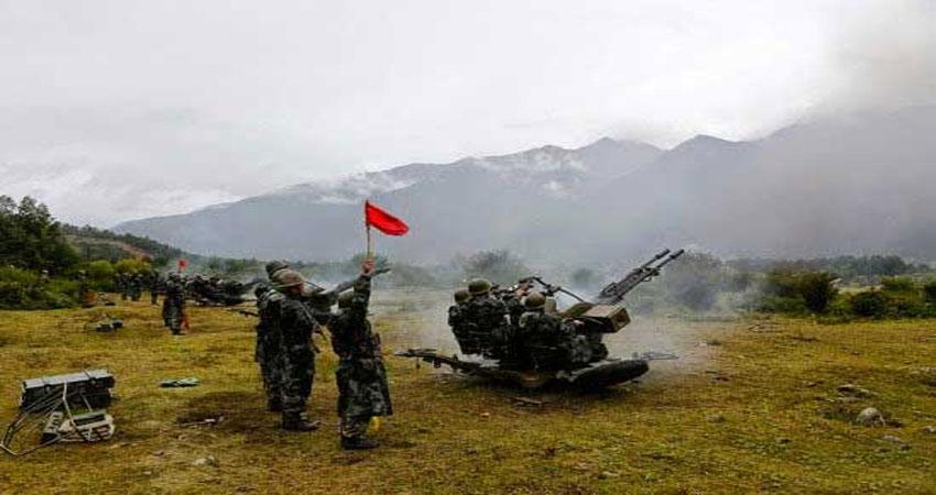 चीन की तिब्बत में सैन्य अभ्यास कर की भारत को उकसाने वाली कोशिश