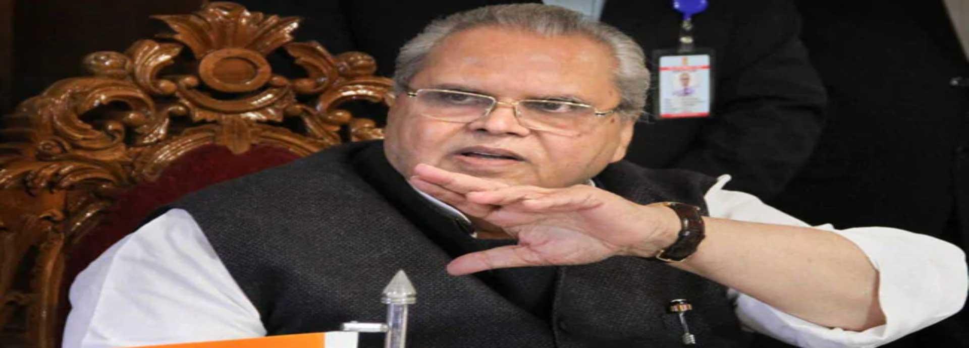 Kashmir: राज्यपाल मलिक का हिंसा वाले बयान पर राहुल को जबाव, कहा भेज रहा हूं विमान आएं सच जानें