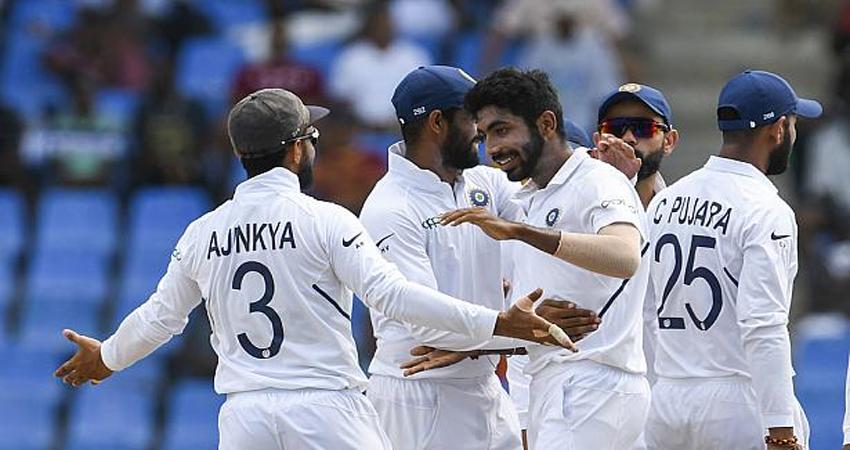 IND vs WI: भारत ने 318 रनों से जीता पहला टेस्ट, बुमराह का परफेक्ट पंच, रहाणे बने मैन ऑफ द मैच