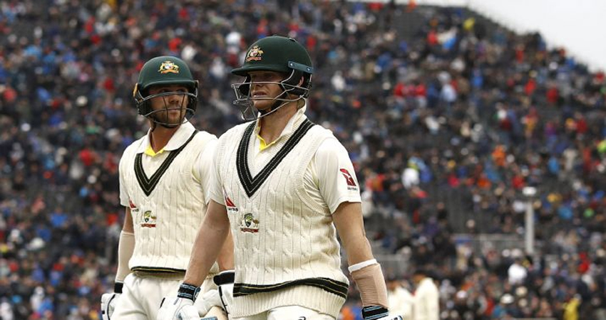 Ashes Series: स्मिथ के दोहरे शतक की बदौलत ऑस्ट्रेलिया ने पहली पारी में बनाया विशाल स्कोर