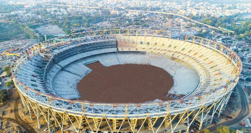 गुजरात में बन चुका है विश्व का सबसे बड़ा क्रिकेट स्टेडियम, पीछे छूटा मेलबोर्न