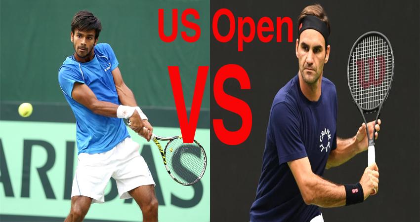 #USOpenTennis: आज 20 बार के ग्रैंड स्लैम विजेता फेडरर से होगा भारत के सुमित का मुकाबला
