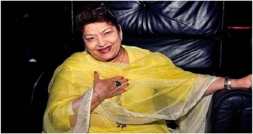 बॉलीवुड की मशहूर कोरियोग्राफर सरोज खान ने दुनिया से ली विदा, मुंबई में निधन