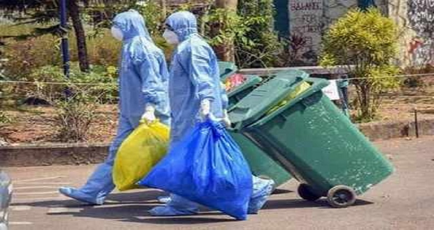 कोरोना मरीजों का कचरा फेंकने पर लगेगा जुर्माना, होम आइसोलेशन वालों को करना होगा ये काम