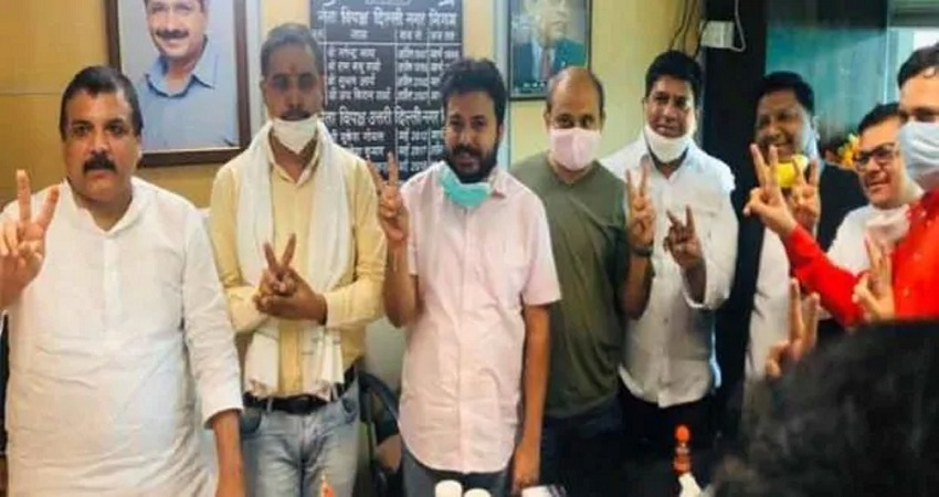MCD में बीजेपी का बहुमत, आंतरिक चुनाव में जीते AAP के उम्मीदवार