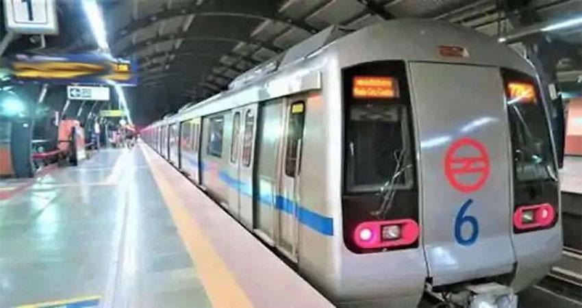 दिल्ली मेट्रो: ब्लू लाइन पर आधे घंटे के करीब परिचालन प्रभावित