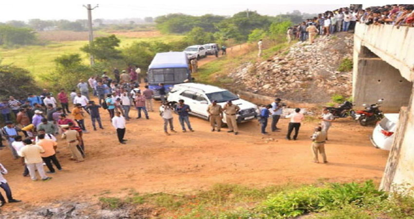Hyderabad Encounter: 9 महिलाओं को दुष्कर्म के बाद जलाकर मार चुके थे आरोपी