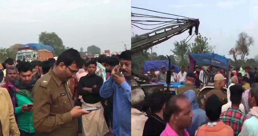 बिहार के इस शहर में बड़ा सड़क हादसा, 11 लोगों की मौत, 4 की हालत गंभीर