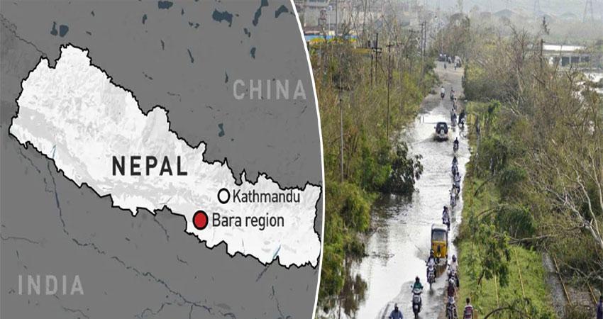 नेपाल: तूफान से मची भारी तबाही, 27 की मौत 400 लोग घायल