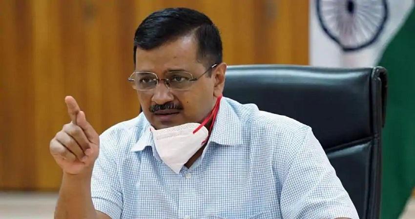 AAP का आरोप- सीएम केजरीवाल के घर के बाहर बीजेपी नेताओं ने की तोड़-फोड़
