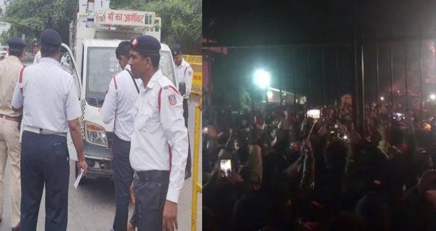 जेएनयू हिंसा: ट्रैफिक पुलिस ने दिल्ली आने वालों को दी ये सलाह