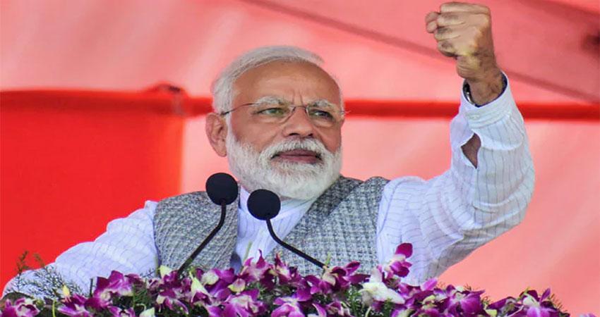 PM मोदी का विपक्ष पर निशाना, कहा- एक तरफ विकास तो दूसरी तरफ वंशवाद