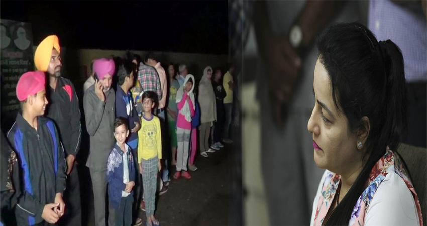 जेल से रिहा होकर डेरा सच्चा सौदा पहुंची गुरमीत राम रहीम की करीबी हनीप्रीत